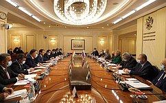 В.Матвиенко: Межпарламентская Комиссия России иТаджикистана– эффективный механизм повыработке инструментов сотрудничества двух стран