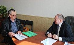 И. Чернышев провел вТомской области прием граждан