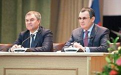 Н. Федоров проинформировал одеятельности Временной комиссии СФ позащите государственного суверенитета