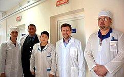 В. Харлов посетил испытательную лабораторию ОГБУ «Симбирский референтный центр ветеринарии ибезопасности продовольствия»
