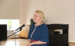 Л.Гумерова посетила детскую клиническую больницу Республики Башкортостан