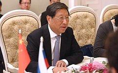 Глава СФ провела встречу сзаместителем Председателя Постоянного комитета Всекитайского собрания народных представителей КНР