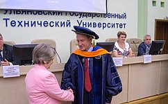 С. Рябухин стал почетным профессором Ульяновского государственного технического университета
