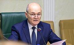 М.Щетинин: Дни регионов вверхней палате позволяют решать актуальные вопросы развития субъектов Федерации