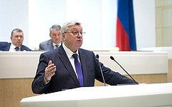 А. Торкунов выступил перед сенаторами сдокладом натему «Революция имир: уроки истории»
