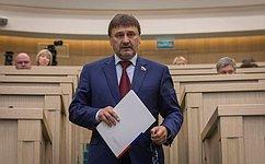 В. Лебедев принял участие взаседании рабочей группы Государственного совета РФ понаправлению «Экология иприродные ресурсы»