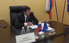 С. Цеков провёл приём граждан вСимферополе