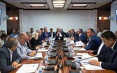 ВКомитете СФ пообороне ибезопасности состоялось заключительное заседание весенней сессии 2018года