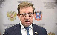 А.Майоров: Реализация госпрограммы РФ «Комплексное развитие сельских территорий» требует полноценного финансирования