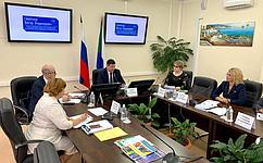 В. Смирнов: Лучшие практики школьного образования вХабаровском крае будут учтены вработе профильного Комитета СФ