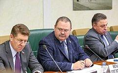 Для реализации постановлений СФ огосподдержке развития регионов проведена серьезная работа— О.Мельниченко