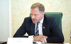 А. Кутепов: Законодательная работа всфере водоснабжения иводоотведения нуждается втщательной оценке последствий