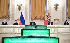 В.Матвиенко приняла участие взаседании Государственного совета, посвященном вопросам экологии
