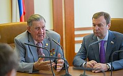 В. Долгих: Самое важное вработе сенатора– отстаивание интересов региона назаконодательном уровне