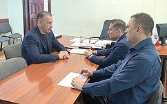 О. Алексеев посетил Новоузенский район Саратовской области