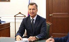 А.Яцкин: Совет Федерации поддерживает приоритеты социально-экономического развития иэкологического благополучия Астраханской области