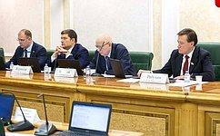 Сенаторы обсудили совершенствование межбюджетных отношений напримере Ульяновской области