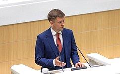 На«правительственном часе» выступил Министр цифрового развития, связи имассовых коммуникаций РФ