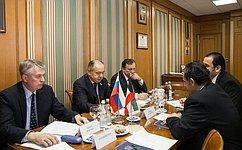 И. Умаханов провел встречу сПослом Кувейта
