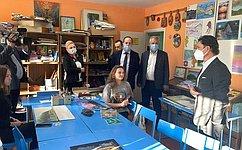 М. Кавджарадзе посетил Школу искусств иЦентр дополнительного образования вЛипецкой области