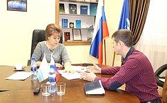 Т. Гигель провела прием граждан вРеспублике Алтай