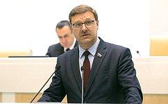 К.Косачев: Потребность внормализации отношений Европейского союза иРоссии будет нарастать
