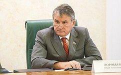 Ю. Воробьев провел встречу ссопредседателем группы дружбы «Швейцария– Россия» Ф. Ломбарди