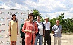 Т. Лебедева приняла участие вцеремонии вручения путевок студенческим отрядам вВолгоградской области
