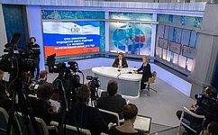 Совет Федерации работал внапряженном ритме, одобрены нужные для страны законы— В.Матвиенко