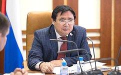 А. Акимов впреддверии Дней субъекта вСовете Федерации рассказал одостижениях ипроблемах Якутии