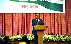 А. Александров поздравил Законодательное Собрание Калужской области с25-летием