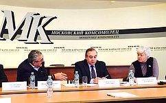 О.Тимофеева приняла участие взаседании «круглого стола» натему «Нарушение прав человека вКрыму»
