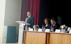 Система образования Забайкальского края продолжает активно развиваться— С.Михайлов