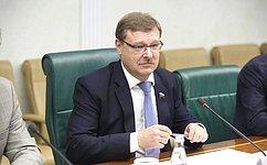 К. Косачев: Мы готовы активно развивать сотрудничество суругвайскими парламентариями