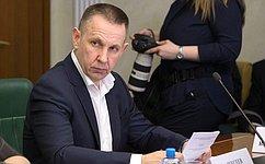 О.Алексеев принял участие всессии Саратовской областной Думы