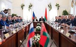 В.Матвиенко: Руководители регионов России иБеларуси заинтересованы всовместной работе наблаго народов двух стран