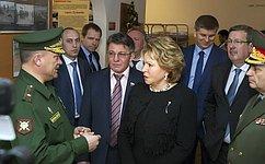 201-я военная база вТаджикистане— фактор сдерживания сил, которые стремятся дестабилизировать ситуацию врегионе— В. Матвиенко