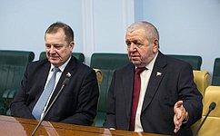 Сенаторы отРеспублики Карелия встретились сактивистами карельского землячества вМоскве