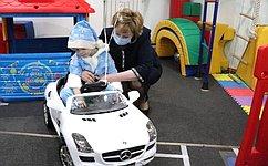 Р. Галушина: Центр социальной реабилитации «Особое детство вНАО» дарит радость детям сограниченными возможностями здоровья