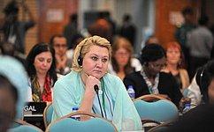 Всемирный фестиваль молодежи истудентов вРоссии вызвал большой интерес наАссамблее МПС вДакке— Л.Гумерова