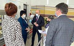 О. Цепкин посетил школы Саткинского района Челябинской области