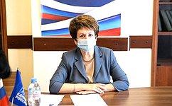 Е. Алтабаева провела тематический прием жителей Севастополя повопросам функционирования жилищно-коммунального хозяйства