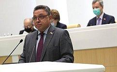 Назначены полномочные представители СФ вГосударственной Думе, Счетной палате РФ, атакже повзаимодействию сУполномоченным поправам человека вРФ