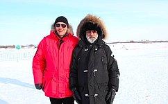 И.Кошин: Гонки наснегоходах стали массовым спортом для жителей НАО