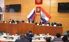 Д.Шатохин: Палата молодых законодателей при СФ– уникальная возможность для молодежи участвовать вобсуждении законопроектов