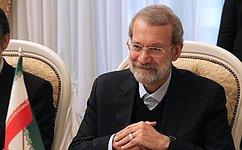 В.Матвиенко провела встречу сПредседателем Собрания исламского совета Ирана А.Лариджани