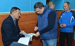 Для развития детского спорта вРеспублике Алтай нужна современная инфраструктура– В.Полетаев