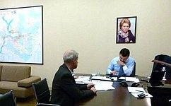 С. Мамедов провел прием граждан поличным вопросам вСамаре