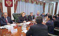Совет Федерации иПарламент Лаоса подписали Соглашение осотрудничестве