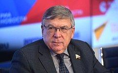 В. Рязанский: Одна изосновных идолгосрочных программ, развиваемых Союзом пенсионеров России,— «Активное долголетие»